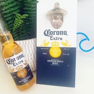 Corona Beer | Wall Mount Beer Opener